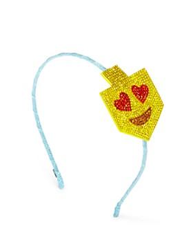 GiGi - Girls' Embellished Dreidel Emoji Headband - 100% Exclusive