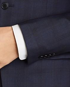 John Varvatos Star USA - Tonal Shadow-Plaid Wool Slim Fit Suit Separates