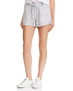 Bella Dahl - Frayed Tie-Dye Shorts