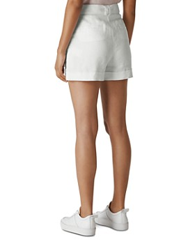 Whistles - Lightweight Belted Shorts