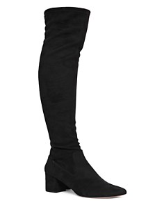 REISS - Women's Margi Over-the-Knee Suede Boots