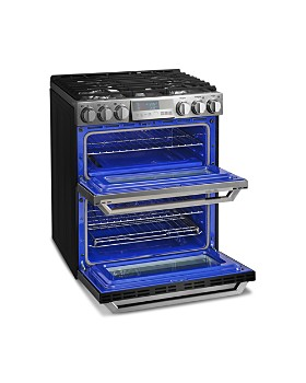 LG SIGNATURE - SIGNATURE Smart Wi-Fi-Enabled Gas Double Oven Slide-In Range with ProBake Convection® #LUTG4519SN