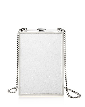 d39261d622d Shop Halston Heritage North South Large Box Bag In Silver Silver