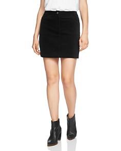1.STATE - Pinwale-Corduroy Mini Skirt