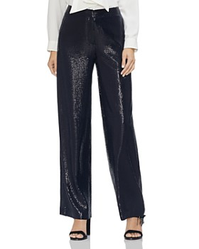 VINCE CAMUTO - Sequined Wide-Leg Pants