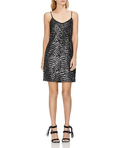 VINCE CAMUTO - Sequined Slip Dress