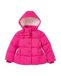 kate spade new york - Girls' Bow Puffer Coat - Big Kid