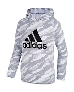 Adidas - Boys' Fleece Camo-Print Hoodie - Little Kid, Big Kid