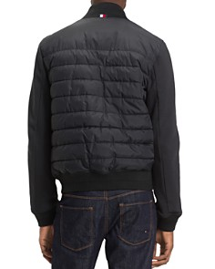Tommy Hilfiger - Quilted Mixed-Media Bomber Jacket