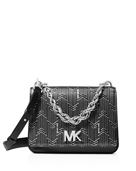 MICHAEL Michael Kors - Matt Chain Leather Shoulder Bag ... 315ee88c65