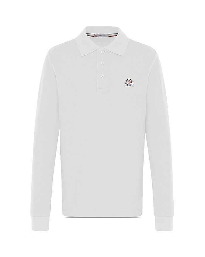 654166f1b371 Moncler Boys  Long-Sleeve Polo Shirt - Little Kid