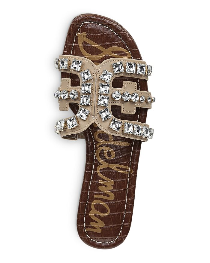 b13849fcb Sam Edelman - Women s Bay 8 Embellished Slide Sandals