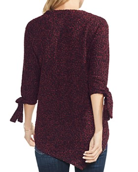 VINCE CAMUTO - Marled Asymmetric Sweater