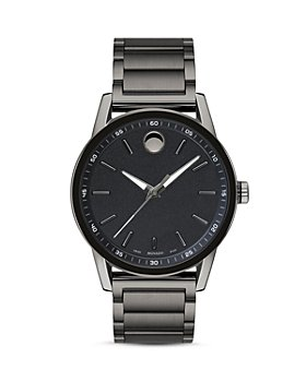 Movado - Museum Sport Gunmetal-Tone Watch, 42mm