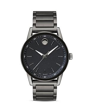 Movado Museum Sport Gunmetal-Tone Watch, 42mm