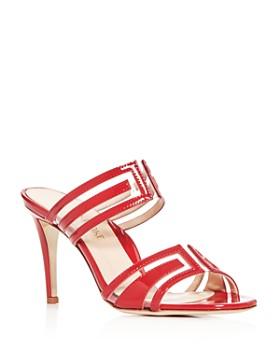 MARION PARKE - Women's Salome Embellished High-Heel Sandals