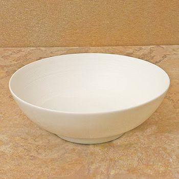 "JL Coquet - J•L Coquet ""Hemisphere"" White Soup Bowl, Small"