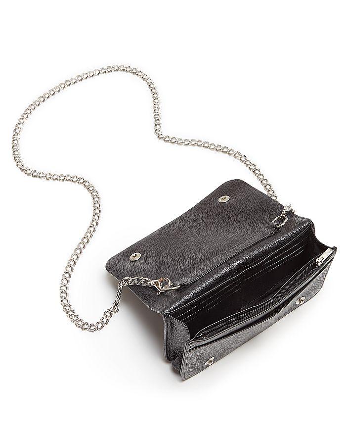 a7dfd76f4466 Longchamp - Le Foulonne Pebbled Leather Chain Wallet