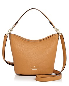 kate spade new york - Jackson Street Rubie Small Pebbled Leather Bucket Bag