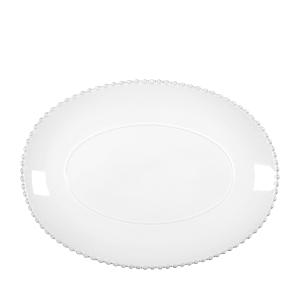 Costa Nova White Pearl 15.75 Oval Platter