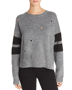Current/Elliott - The Yates Distressed Sweater
