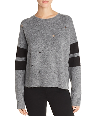 Current/Elliott The Yates Distressed Sweater