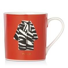 kate spade new york - Zebra Coat Wild Mug