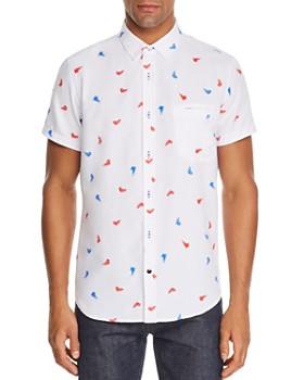 Sovereign Code - Pismo Short-Sleeve Kicks-Print Regular Fit Shirt