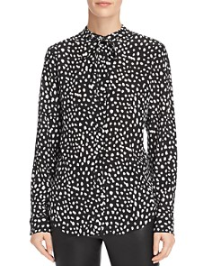 Anine Bing - Holly Printed Silk Blouse