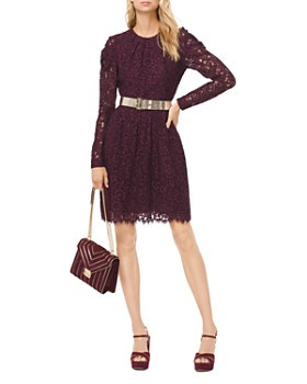 MICHAEL Michael Kors - Corded Floral Lace Dress