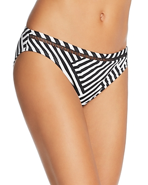 Tommy Bahama Fractured Stripe Hipster Bikini Bottom