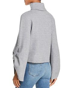 C/MEO Collective - Heart Breaker Bell-Sleeve Turtleneck Sweater