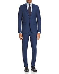 HUGO - HUGO Tonal Glen Plaid Slim Fit Suit Separates