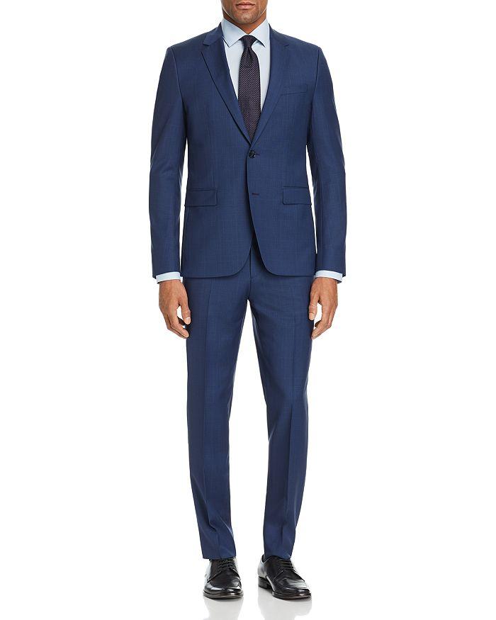 HUGO - Tonal Glen Plaid Slim Fit Suit Separates