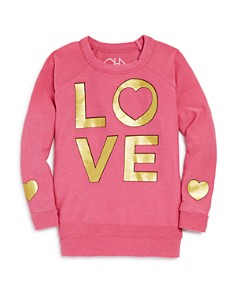 CHASER - Girls' Golden Love Top - Little Kid, Big Kid