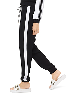 Michael Michael Kors Contrast Stripe Jogger Pants