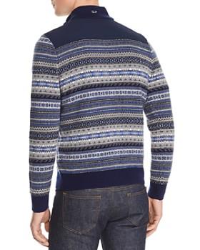 Vineyard Vines - Fair-Isle Half-Zip Pullover Sweater
