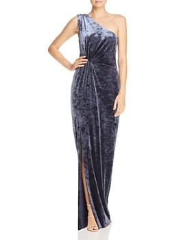 0583c597c42 Rachel Zoe - Theresa Velvet One-Shoulder Gown - 100% Exclusive ...