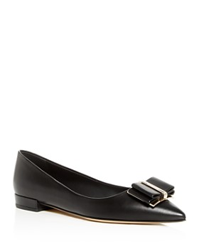 Salvatore Ferragamo - Women's Zeri Pointed-Toe Flats