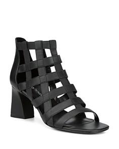 Donald Pliner - Women's Visto Strappy Cage Block Heel Sandals