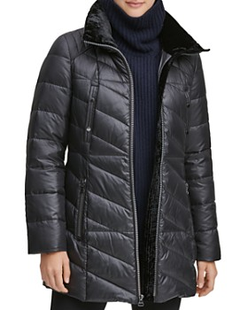 Marc New York - Shirley Hooded Faux Fur Trim Parka