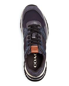 COACH - Men's Monogram C143 Low-Top Sneakers