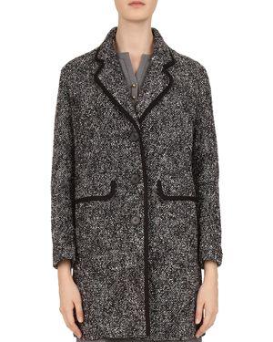 Gerard Darel Mercy Tweed Coat