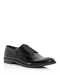 Armani - Men's Leather Plain-Toe Oxfords