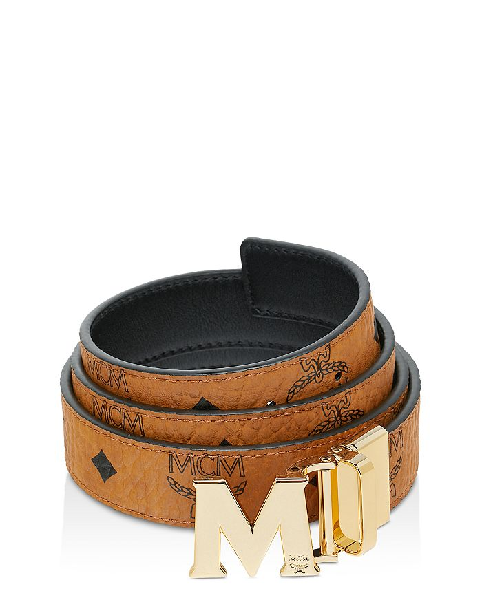 1d35aeaadee6 MCM - Women s Claus Medium Reversible Belt