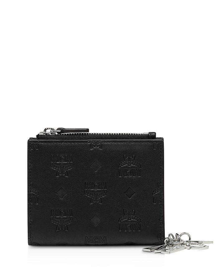 MCM - Klara Monogrammed Mini Two-Fold Leather Wallet