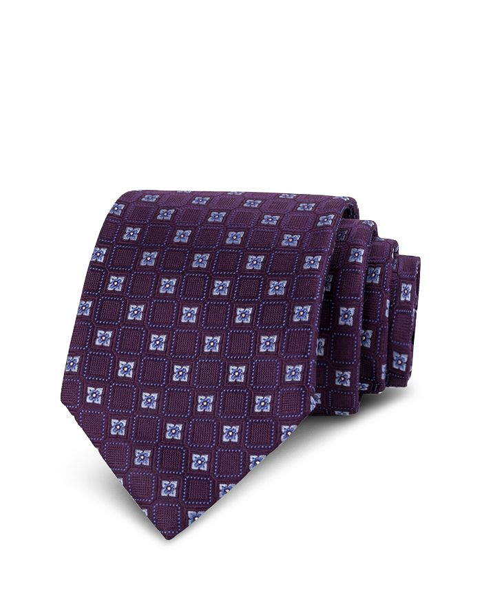 The Men's Store at Bloomingdale's - Floral Silk Classic Tie - 100% Exclusive