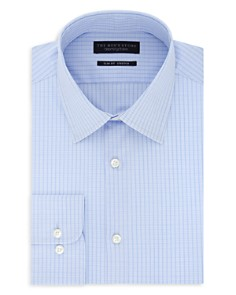 The Men's Store at Bloomingdale's - Double-Checked Stretch Slim Fit Dress Shirt - 100% Exclusive