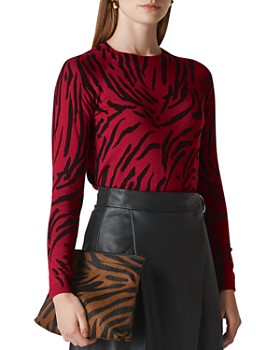 Whistles - Tiger-Print Sweater