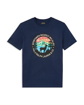 Ralph Lauren - Boys' Respect Wildlife Tee - Big Kid